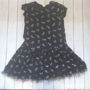 EUC Black Crewcut Dress